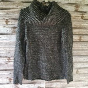 Bass Cowl Neck Sweater Size M
